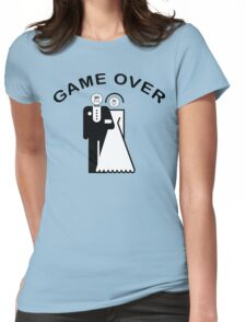 Game Over Getting Married Womens Fitted T-Shirt