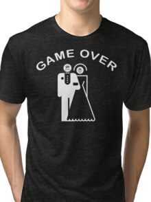 Game Over Getting Married Tri-blend T-Shirt