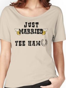 Just Married Cowboy Women's Relaxed Fit T-Shirt