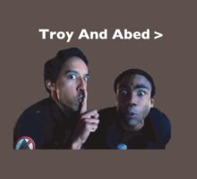 Troy and Abed by blakethewizz