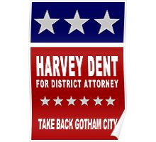 Harvey Dent for District Attorney Poster
