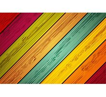 Color Stain Photographic Print