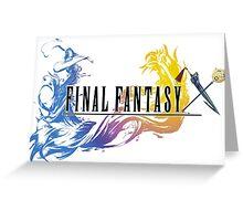 Final Fantasy X Greeting Card