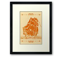 High Sails Framed Print
