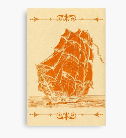 High Sails Canvas Print