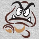 Goomba with Attitude by Ameda Nowlin