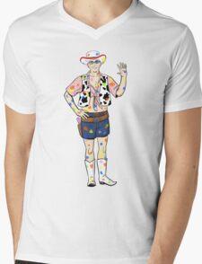 Paintball Dean Mens V-Neck T-Shirt