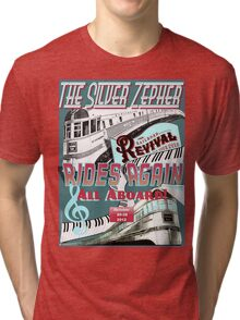 Railroad Revival Challenge Tee-Shirt Design Tri-blend T-Shirt