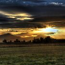 Lomond Hills Sunset. by ninjabob
