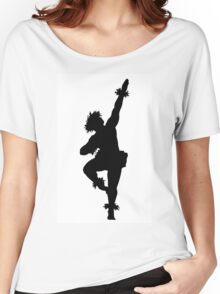 A male Hula dancer Women's Relaxed Fit T-Shirt
