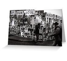 Murder of our souls Greeting Card