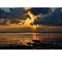 Sundown Brilliance Photographic Print