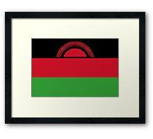 Malawi - Standard Framed Print