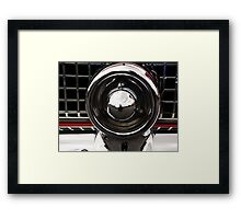1956 T-Bird bumper Framed Print
