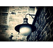 The old wall lamp  Photographic Print