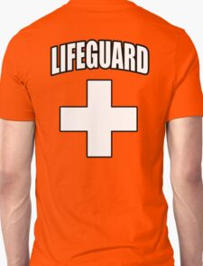 Lifeguard, Rescue, Life Saver, Swim, Swimmer, on Red T-Shirt