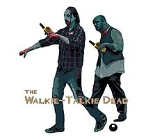 The Walkie Talkie Dead Photographic Print