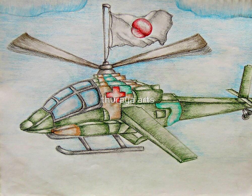 hope for japan by thuraya arts