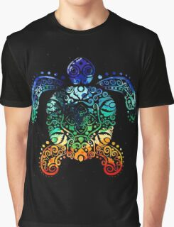 Inked Sea Turtle Graphic T-Shirt