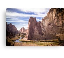Smith Rock State Park (2 of 3) Canvas Print
