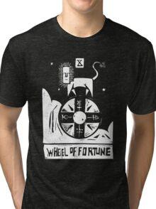 Wheel of Fortune - Tarot Cards - Major Arcana Tri-blend T-Shirt