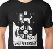 Wheel of Fortune - Tarot Cards - Major Arcana Unisex T-Shirt