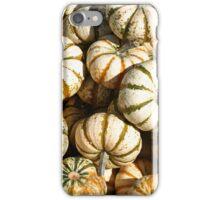 White Pumpkinsq iPhone Case/Skin