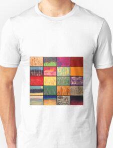 Abstract Landscape Mosaics T-Shirt
