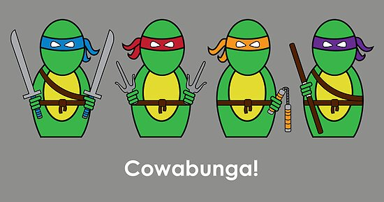 Teenage Mutant Ninja Turtles by Awesome Designing.com
