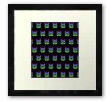 Geek Cats Framed Print