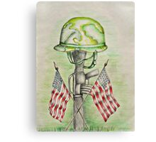 memorial day Canvas Print