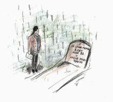 Doctor Who at Amy & Rory's Grave. by Jessica Slater
