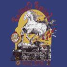 """Iron Horse"" RailRoad Revival Tour 2012 T-shirt by John-Mike"