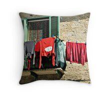 Faleria Reds-Faleria, Italy Throw Pillow