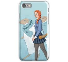 Little Girl Blue iPhone Case/Skin