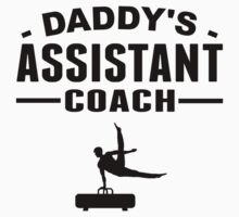 Daddy's Assistant Gymnastics Coach One Piece - Short Sleeve
