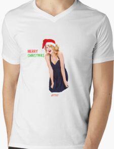 Merry Christmas Taylor Swift Mens V-Neck T-Shirt
