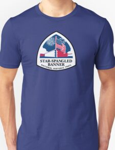 Star-Spangled Banner Trail Sign, USA T-Shirt