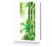 Bamboo Plants Greeting Card
