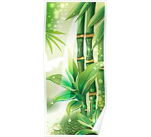 Bamboo Plants Poster