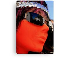 As seen by a mannequin Canvas Print