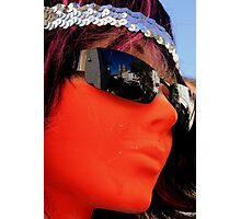 As seen by a mannequin Photographic Print