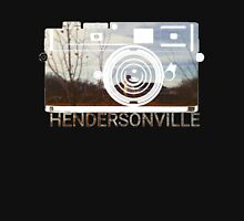 Retro Camera Hendersonville Design Unisex T-Shirt