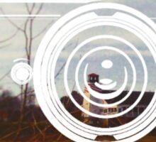 Retro Camera Hendersonville Design Sticker