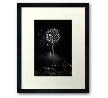 Skylines and Heartlines  Framed Print
