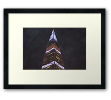 Faisaliah Tower Framed Print