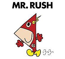The Flash - Mr Rush Photographic Print