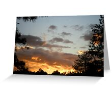 Flagstaff Sunset Greeting Card