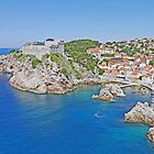 Lovrijenac from Dubrovnik by Graeme  Hyde