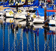 Santa Cruz Harbor Morning by Stephanie Macwhorter